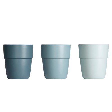 Done by Deer Yummy Mini Mug 3-pack Blue Tones