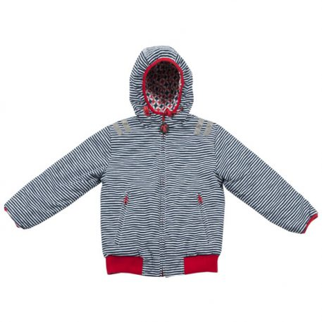 Ducksday Reversible Jacket Flicflac-Redblue
