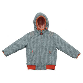 Ducksday Reversible Jacket Manu-Orange