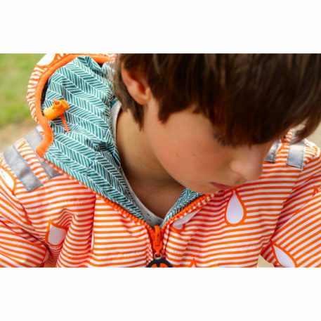 Ducksday Reversible Jacket Manu-Orange