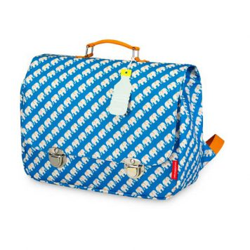 Engel. Schooltas Large Elephant Blue
