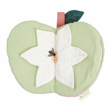 Fabelab Fabric Book - Green Apple
