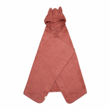 Fabelab Hooded Towel Bunny Clay