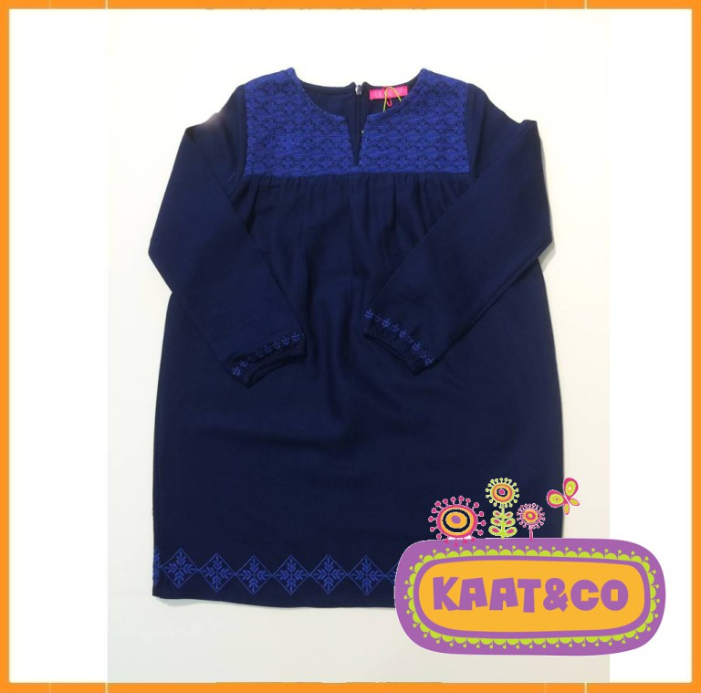 Lebig Embroidery Dress