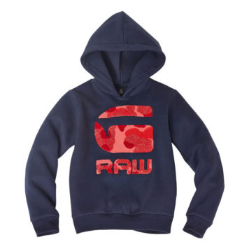 G-Star Girl Hoody Raw Navy