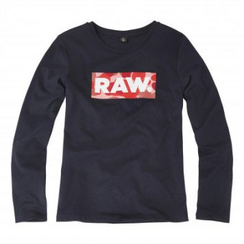 G-Star Girl Longsleeve Logo RAW