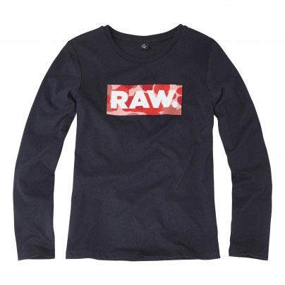 G-Star Girl Longsleeve Logo RAW