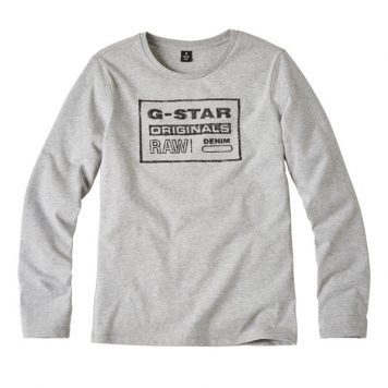 G-Star Girl Longsleeve Original Grey