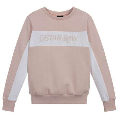 G-Star Girl Sweater Logo Peche