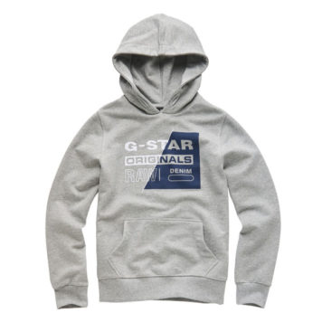 G-Star Hoody Slash Industrial Grey