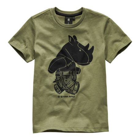 G-Star Kids T-Shirt G-No Bog Green