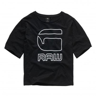 G-Star Raw Girl Boxy T-Shirt Logo Black