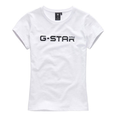 G-Star Raw Girl T-Shirt Logo White