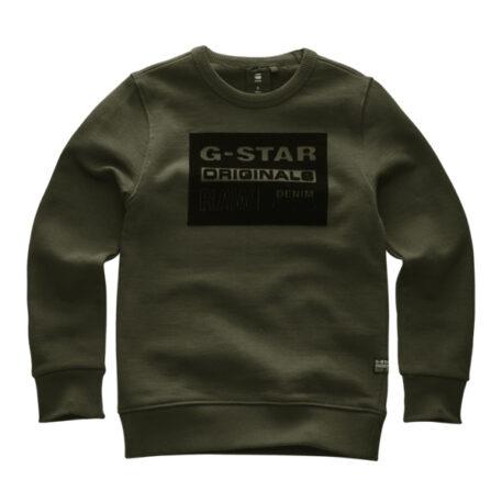 G-Star Sweater City Logo Asfalt