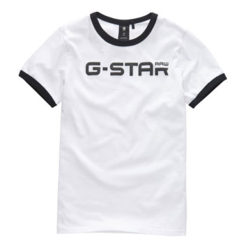 G-Star T-Shirt Bords RAW White