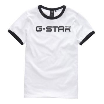 G-Star T-Shirt Bords RAW White