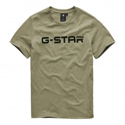 G-Star T-Shirt Logo Bog Green