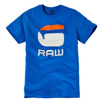 G-Star T-Shirt Logo G Raw Blue