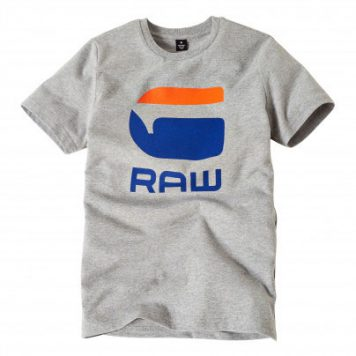 G-Star T-Shirt Logo G Raw Grey