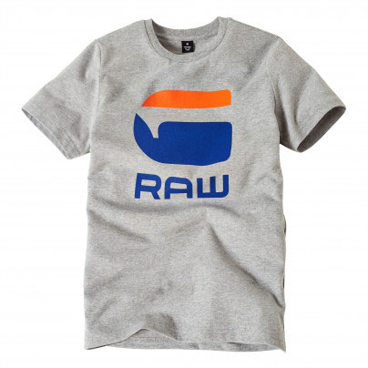 G-Star T-Shirt Logo G Raw Grey
