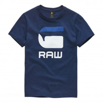G-Star T-Shirt Logo G Raw Imperial Blue