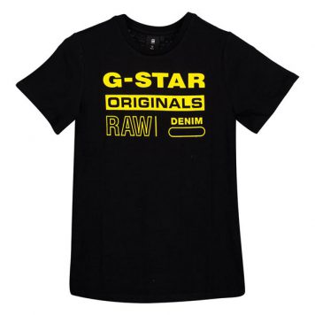 G-Star T-Shirt Logo Original Black