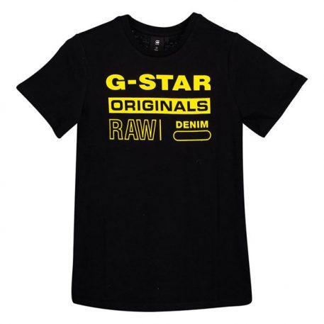 G-Star T-Shirt Logo Original Black
