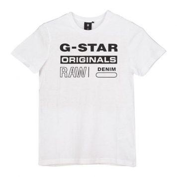 G-Star T-Shirt Logo Original White