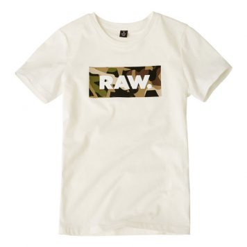 G-Star T-Shirt Logo RAW Camo