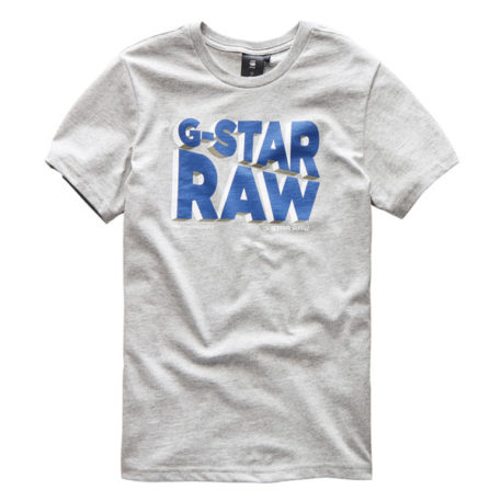 G-Star T-Shirt Logo RAW Industrial Grey