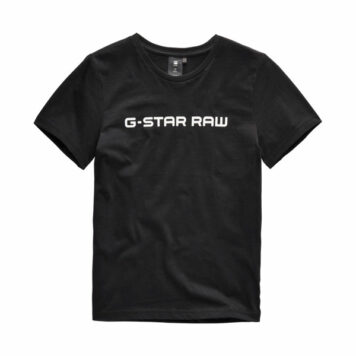 G-Star T-Shirt Logo Raw MC Black