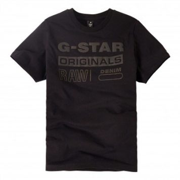 G-Star T-Shirt Original Puff Black