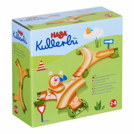 Haba Knikkerbaan Kullerbü Uitbreidingsset Draaiwissel