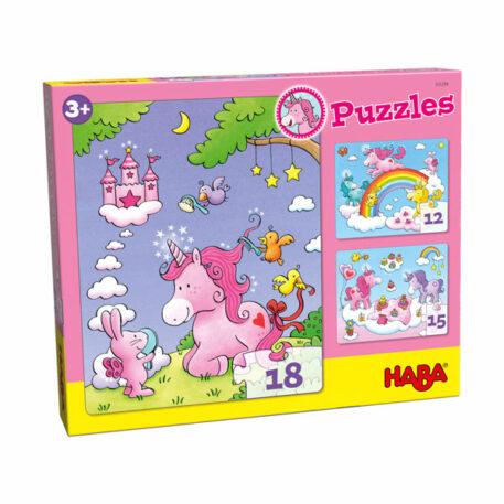Haba Puzzel Eenhoorn Flonkerglans 3+