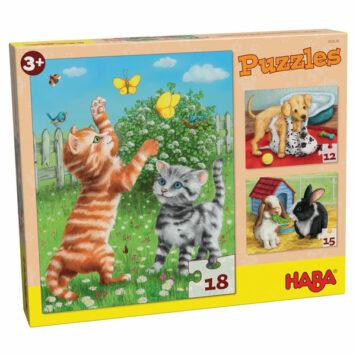 Haba Puzzel Huisdieren 3+