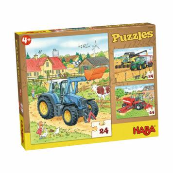 Haba Puzzel Tractor 4+
