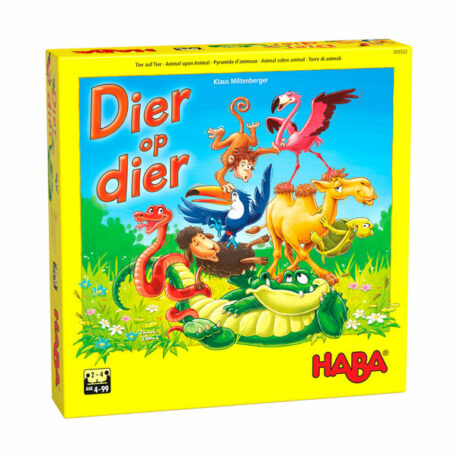 Haba Spel Dier op Dier - Het Wankele Stapelspel 4+