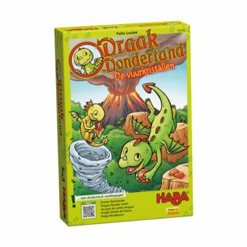 Haba Spel Draak Dondertand - De Vuurkristallen 3+