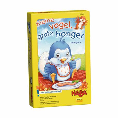 Haba Spel Kleine Vogel, Grote Honger 3+