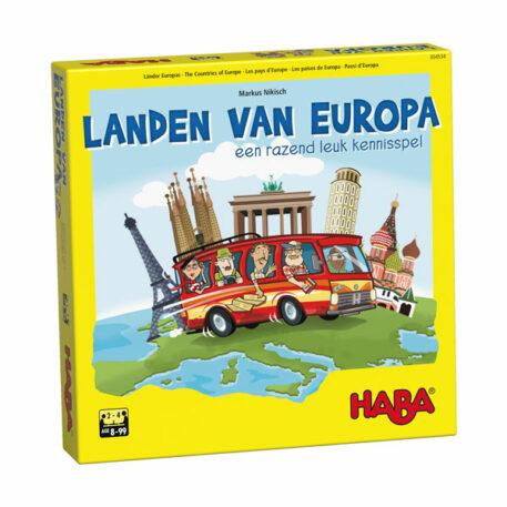 Haba Spel Landen van Europa 8+