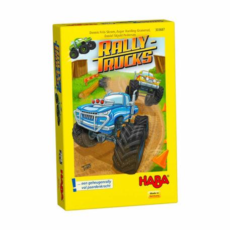 Haba Spel Rallytrucks 5+