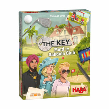Haba Spel The Key - Moord in de Oakdale Club 8+