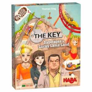 Haba Spel The Key - Sabotage in Lucky Lama Land 8+