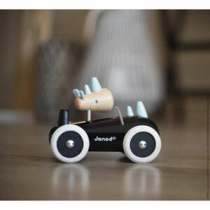 Janod Houten Racewagen Spirit Rony 18M+