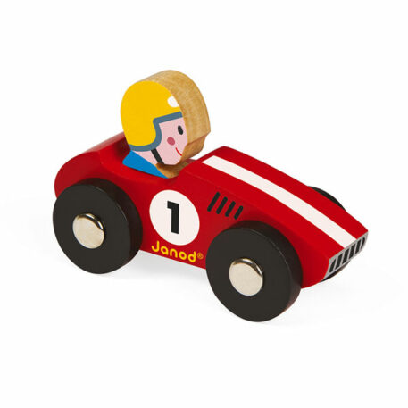Janod Story Racer Rood 1+