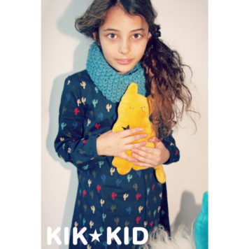Kik Kid Dress Cactus