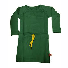 Kik Kid Dress Fever Waist French Green