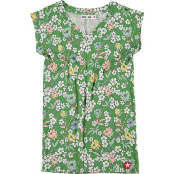 Kik Kid Dress Jersey Flower