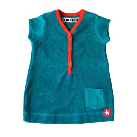 Kik Kid Dress Terry Blue