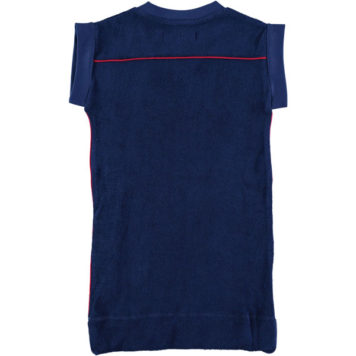 Kik Kid Dress Terry Dark Blue